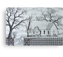 Oak Ridge Church Canvas Print