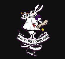 Don't Follow the white rabbit Unisex T-Shirt