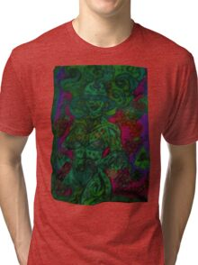 Ganja Guardians #12 BlackBerry {Real} Tri-blend T-Shirt