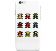 8-bit Deadpool Through the Ages iPhone Case/Skin