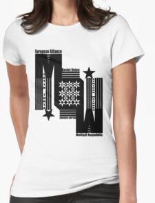 March of War Womens Fitted T-Shirt