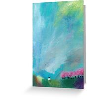 Cherry tree alley cottage Greeting Card