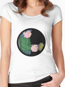Pixel Art Women's Fitted Scoop T-Shirt