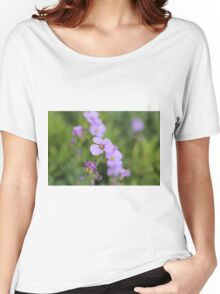 Flower Women's Relaxed Fit T-Shirt