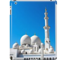 Zayed Grand Mosque iPad Case/Skin