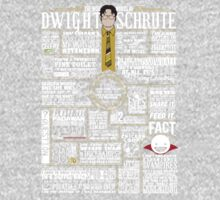 The Wise Words of Dwight Schrute (Dark Tee) One Piece - Long Sleeve