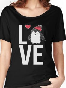 Love Penguin Women's Relaxed Fit T-Shirt