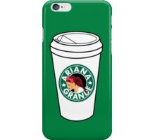 Ariana Grande Coffee iPhone Case/Skin