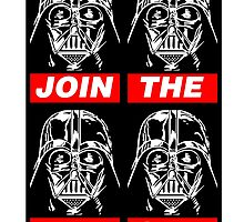 STAR WARS - JOIN THE DARK SIDE (BLACK) by WiseOut