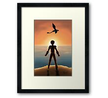 Where No One Goes Framed Print