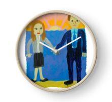 Jim and Pam's Wedding Gift Clock