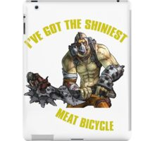 Meat Bicycle iPad Case/Skin