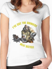 Meat Bicycle Women's Fitted Scoop T-Shirt
