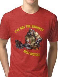 Meat Bicycle Tri-blend T-Shirt