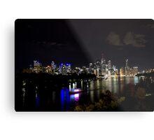 Overlooking The Brisbane River Metal Print