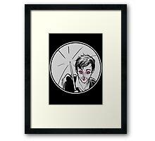 Rainy Gotham Framed Print