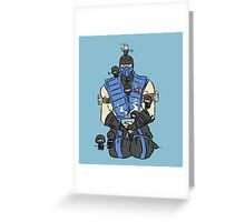 The Lin Kuei Greeting Card