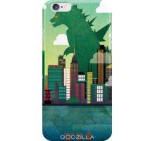 Godzilla. iPhone Case/Skin