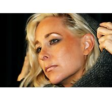 Blond Woman Photographic Print