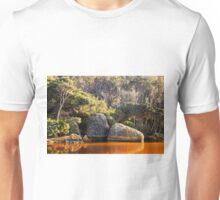 Tidal River Sunrise Unisex T-Shirt