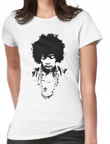 Jimi Hendrix 2 Womens Fitted T-Shirt