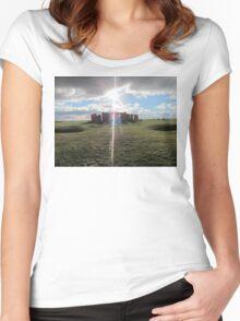 Stonehenge  Women's Fitted Scoop T-Shirt