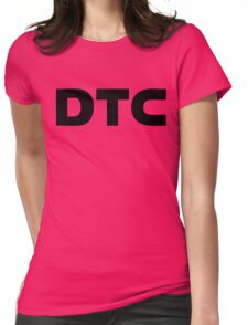dtc dans ton cul ! Womens Fitted T-Shirt
