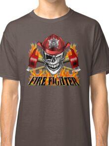 Fireman Skull 7 Classic T-Shirt