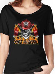 Fireman Skull 7 Women's Relaxed Fit T-Shirt