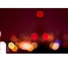 Abstract Bokeh Lights I Photographic Print