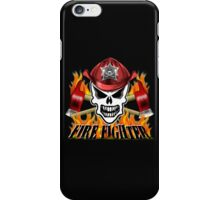 Fire Fighter Skull 2 iPhone Case/Skin