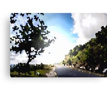 Out in the Serenity of nature Canvas Print