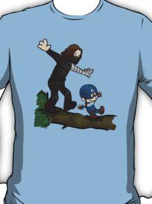Steve and Bucky T-Shirt