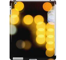 Abstract Bokeh Lights II iPad Case/Skin