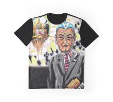 The Villainous Presidents: Lyndon B. Johnson Graphic T-Shirt