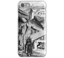 Midnight at The Oil Fields. iPhone Case/Skin
