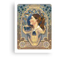 Molly Hooper Art Nouveau Canvas Print