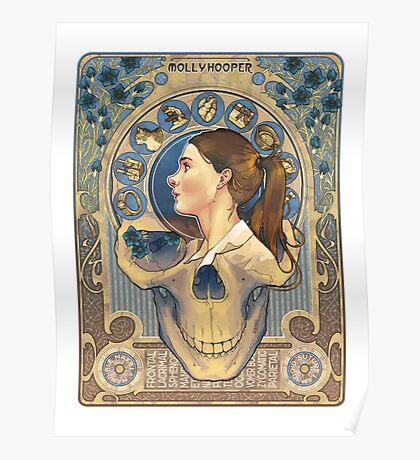 Molly Hooper Art Nouveau Poster
