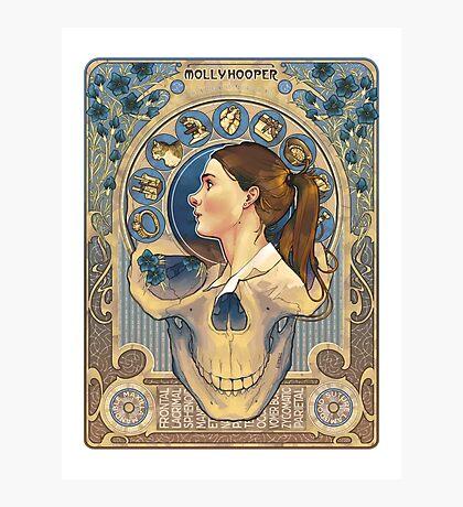Molly Hooper Art Nouveau Photographic Print