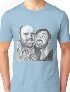 Karl Pilkington & Ricky Gervais - the world need more of em!! Unisex T-Shirt