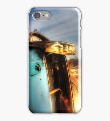 Old Truck in the Mojave Desert iPhone Case/Skin