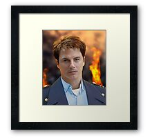 An Impossible Thing – Captain Jack Harkness Framed Print