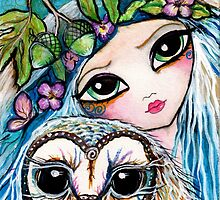 Owl Sprite by Sheridon Rayment by BlueMoonOwl