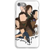 screwing with the wrong people iPhone Case/Skin