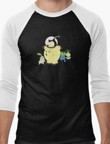 Plant-Animal Hybrids Men's Baseball ¾ T-Shirt