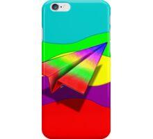 Paper Airplane 45 iPhone Case/Skin
