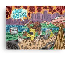 Worf Speed! Canvas Print