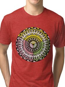 Retro Colours Tri-blend T-Shirt