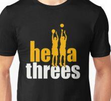 Hella Threes Unisex T-Shirt