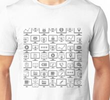 Background the computer5 Unisex T-Shirt